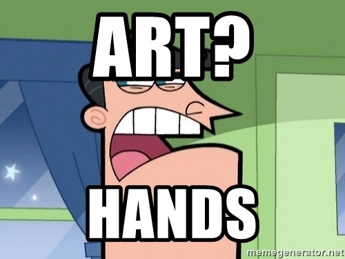 Dinkleberg - Art? Hands