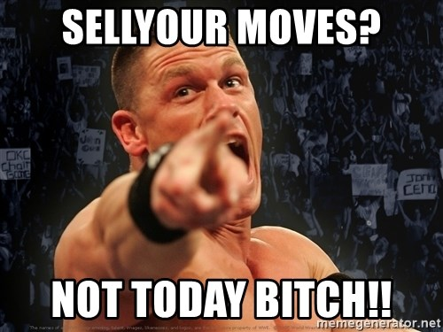 John Cena Smack Down - Sellyour moves? Not today bitch!!