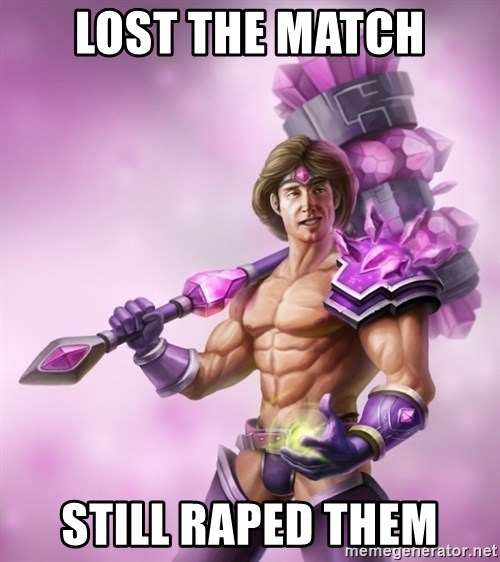 Outrageous, Sexy Taric - Lost The match still Raped them