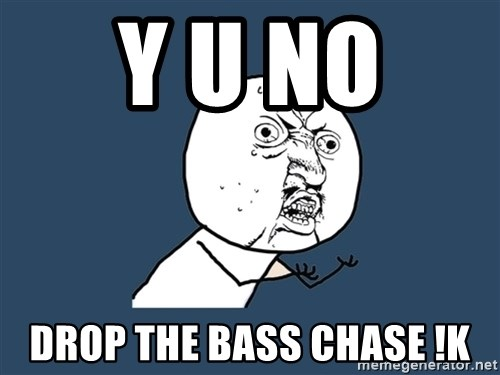 Y U No - Y U No  drop the bass chase !k