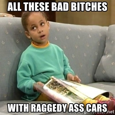 Olivia Cosby Show - All these Bad bitcheS With raggedy ass cars