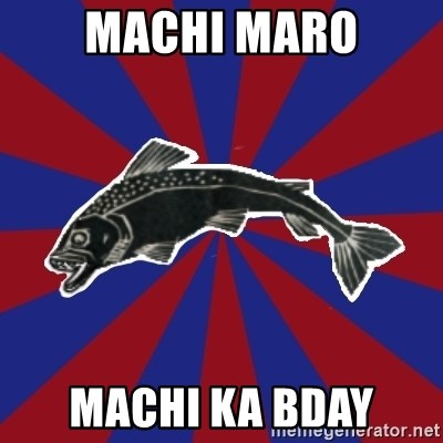 Borderline Blackfish - machi maro machi ka bday