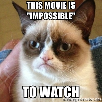 """Grumpy Cat  - THIS MOVIE IS """"IMPOSSIBLE"""" TO WATCH"""