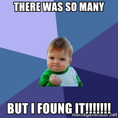 Success Kid - there was so many but i foung it!!!!!!!