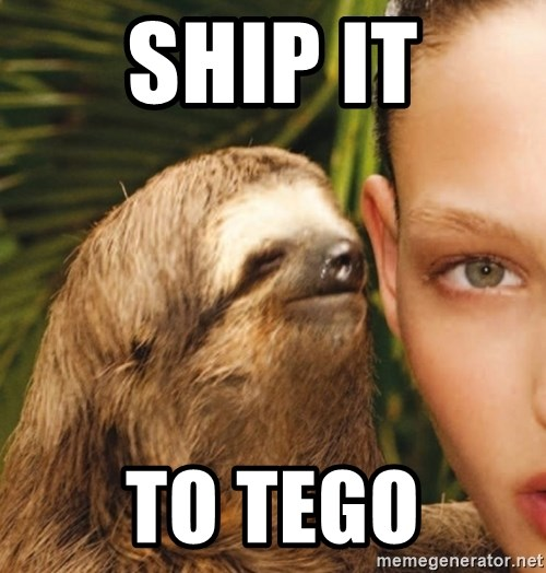 The Rape Sloth - ship it to tego