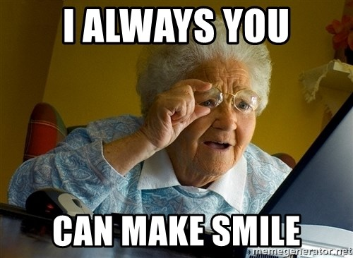 Internet Grandma Surprise - i always you can make smile