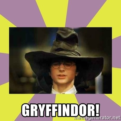 Harry Potter Sorting Hat -  GrYffIndor!