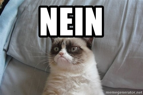 Grumpy cat good - nein