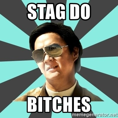 mr chow - Stag Do Bitches