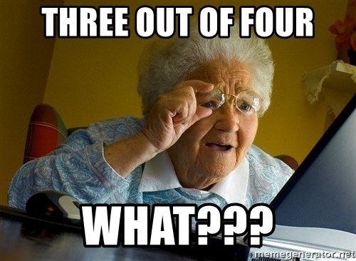 Internet Grandma Surprise - Three out of four What???