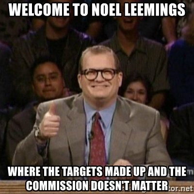 drew carey whose line is it anyway - welcome to noel leemings where the targets made up and the commission doesn't matter