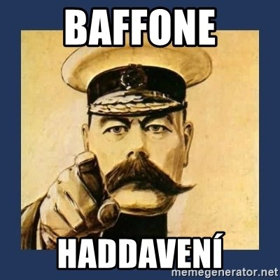your country needs you - BAFFONE HADDAVENÍ
