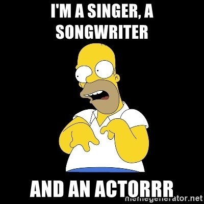 look-marge - I'M A SINGER, A SONGWRITER AND AN ACTORRR