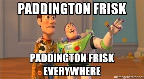 Consequences Toy Story - paddington frisk paddington frisk everywhere