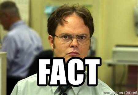 Dwight Schrute -  FACT