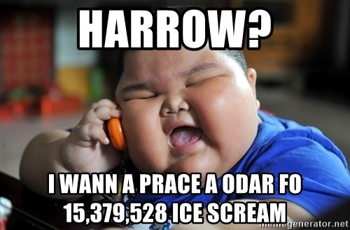 Fat Asian Kid - harrow? I Wann A PRACE A ODAR Fo 15,379,528 ICE SCREAM