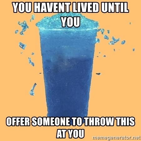 Gleek - You havent lived until you offer someone to throw this at you