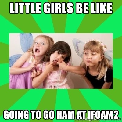 CARO EMERALD, WALDECK AND MISS 600 - LITTLE GIRLS BE LIKE GOING TO GO HAM AT IFOAM2