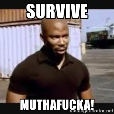 James Doakes surprise - survive muthafucka!