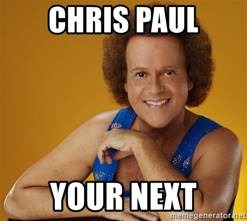 Gay Richard Simmons - Chris paul Your next