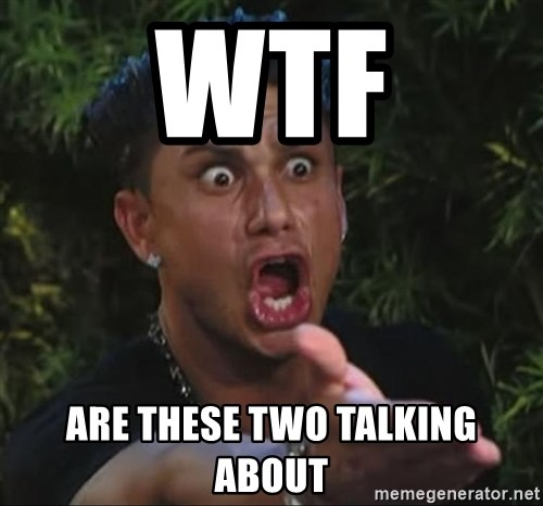 Pauly D - Wtf Are these two talking about