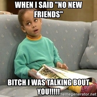 """Olivia Cosby Show - When I said """"NO new FriENDs"""" Bitch I was talking bout you!!!!!"""