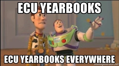 X, X Everywhere  - ecu yearbooks  ecu yearbooks everywhere