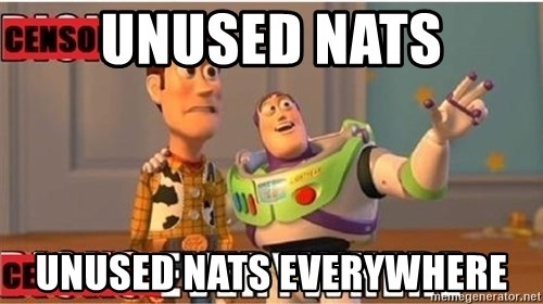 Toy Story Everywhere - Unused NAts Unused NATS EVERYWHERE