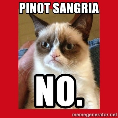 No cat - Pinot sangria no.