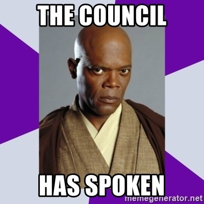 mace windu - The Council Has spoken