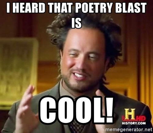Ancient Aliens - i heard that poetry blast is COOL!