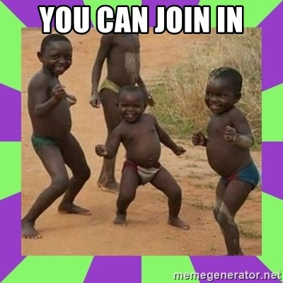 african kids dancing - YOU CAN JOIN IN