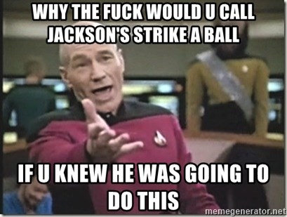 star trek wtf - Why the Fuck would u call Jackson's strike a ball If u knew he was going to do this