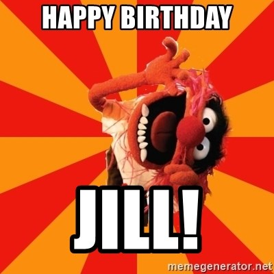 Animal Muppet - Happy BirTHDAY JILL!