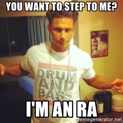 Drum And Bass Guy - you want to step to me? i'm an ra