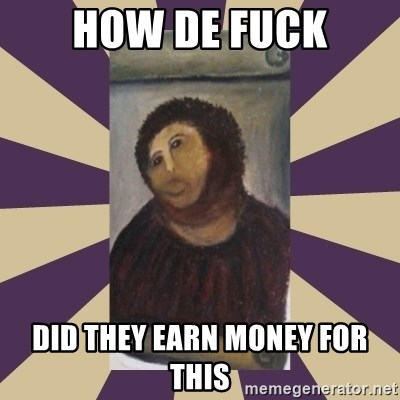 Retouched Ecce Homo - HOW DE FUCK DID THEY EARN MONEY FOR THIS