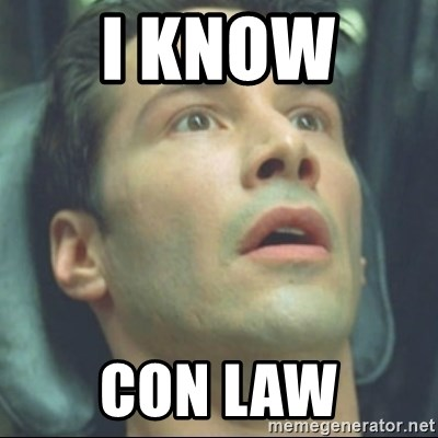 i know kung fu - I KNow  Con Law