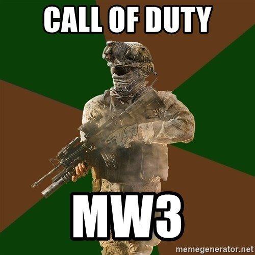 Call Of Duty Addict - CALL OF DUTY MW3