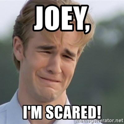 Dawson's Creek - joey, i'm scared!