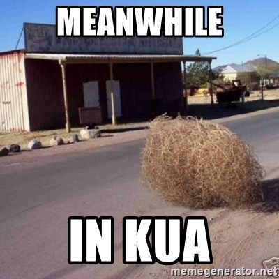 Tumbleweed - MEANWHILE IN KUA