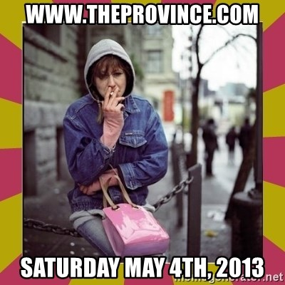 ZOE GREAVES DOWNTOWN EASTSIDE VANCOUVER - www.theprovince.com saturday may 4th, 2013
