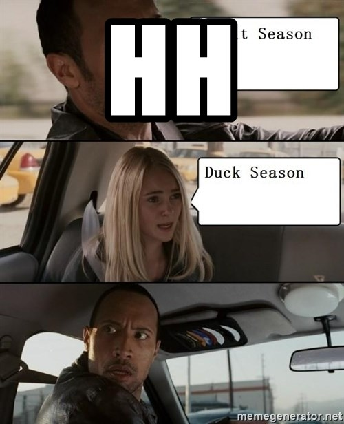 The Rock driving - HH