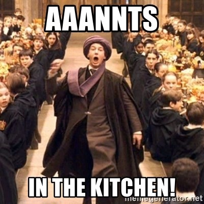 Troll In The Dungeon - AaAnnts In the kitchen!