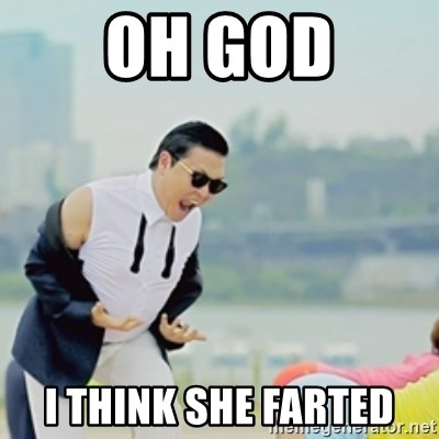 Gangnam Style - OH GOD I THINK SHE FARTED