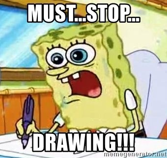 Spongebob What I Learned In Boating School Is - MUST...STOP... Drawing!!!