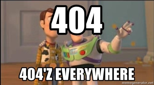 X, X Everywhere  - 404 404'z everywhere