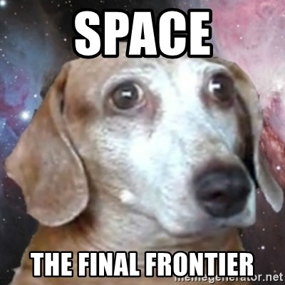 tristolla  - SPACE THE FINAL FRONTIER