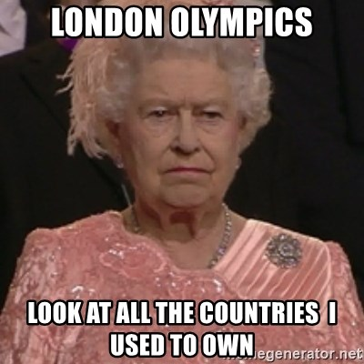the queen olympics - LONDON OLYMPICS LOOK AT ALL THE COUNTRIES  I USED TO OWN