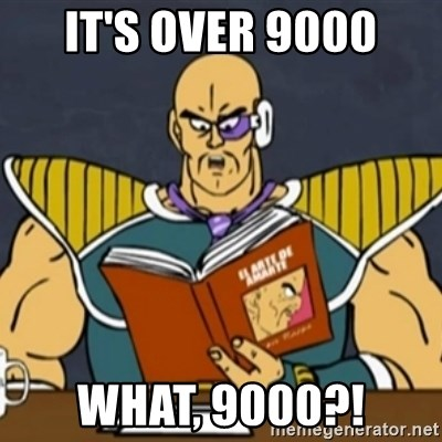 El Arte de Amarte por Nappa - IT'S OVER 9000 WHAT, 9000?!