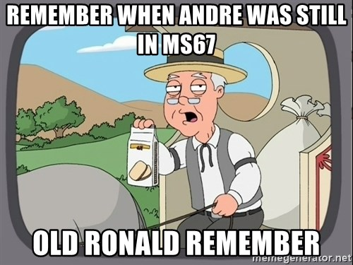 Pepperidge Farm Remembers Meme - remember when andre was still in ms67 old ronald remember
